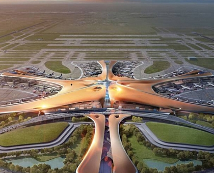 The World's Biggest Airport Will Open in 2019